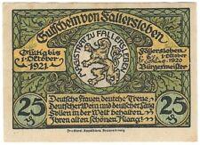 Notgeld -  Stadt Fallersleben - 25 Pfennig 1920 - Schloss; Amtsgericht; Kirche