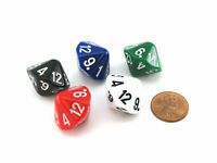 D4 Truncated Tetrahedron The Dice Lab 1 Piece or Assortment Choose Your Color