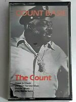 COUNT BASIE cassette tape THE COUNT  factory sealed 1985