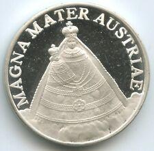 M3821 - Wallfahrtsmedaille Basilika Maria Zell 1157 Magna Mater Proof