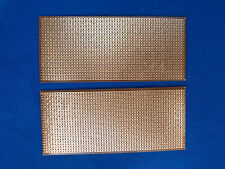 2pcs Stripboard Prototype project circuit PCB 60mm x140mm Copper Vero Breadboard
