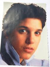 VTG 80s' PINUP Ryan Lambert ? + Unknown Man Teen Beat Magazine 1 PAGE Star