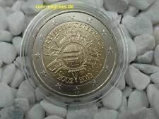 *** 2 EURO Gedenkmünze ÖSTERREICH 2012 10 Jahre Euro Bargeld Münze Coin KMS ***