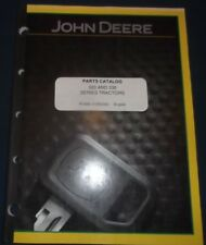 John Deere 320 330 Tractor Parts Manual Book Catalog Pc496