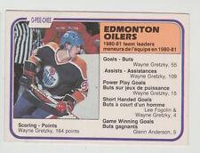 1981/82 OPC O-PEE-CHEE WAYNE GRETZKY EDMONTON OILERS CARD #126  CENTERED NM