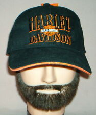 HARLEY DAVIDSON Authentic BLACK SHIELD LOGO - Motorcycle HAT / CAP - NEW W/ TAGS