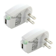 2 HOT! USB Wall Charger Adapter for Apple iPhone 1 2 3 3G 3GS 4 4G 4S 5 5C 5G 5S