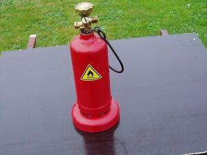 Dachdeckerflasche Kleinstflasche 425 g Weichlötflasche Dachdecker Gas Flasche