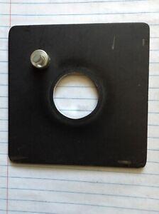 """Beseler 23c 4""""x 4"""" Lens Board, sold seperate"""