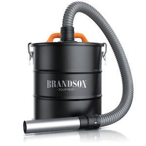 Asche Filter Vorabscheider 20L Behälter Saugeranschluss 1 m Schlauch Aschefilter