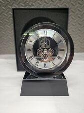 HOWARD MILLER 645-758 FUSION MANTEL CRYSTAL TABLE CLOCK