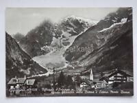 COURMAYEUR Villaggio d' Entreves Aosta vecchia cartolina