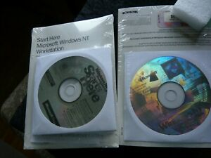 Microsoft Windows NT Workstation 4.0 (two qty) priced to clear both sealed