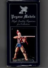 PEGASO MODELS 54-049 - IROQUOIS WARRIOR WOODLAND INDIANS - 54mm WHITE METAL