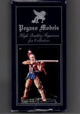 PEGASO MODELS 54-049 - IROQUOIS WARRIOR WOODLAND INDIANS - 54mm WHITE METAL