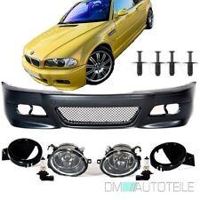 BMW 3 er E46 Coupe Cabrio SPORT Optik Stoßstange Vorne + Nebel für M3+Zubehör