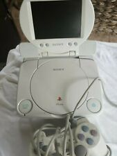 "PlayStation 1 PS1 PSOne Slim Console ONLY with 5"" LCD Screen - tested"