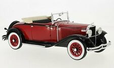 BoS-Models Dodge Eight DG Convertible dark red/bl 1:18 BOS293