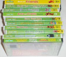 Kid DVD Lot of 10 - Sesame Street Lot (10 New DVDs) Elmo Cookie Monster Big Bird