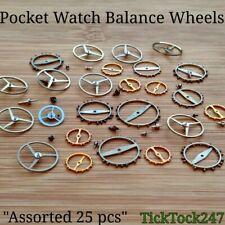 Reloj de bolsillo equilibrio mecánico Ruedas X 25 Surtidos, Reparación, Servicio, Fix, hazlo tú mismo