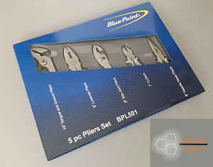 Blue Point 5pc Pliers & Cutter Set BPL501 Inc VAT New As sold by Snap On.