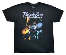 Purple Rain Prince And The Revolution Tee Black Size Large Mens T Shirt