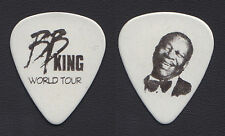 B.B. King Photo White Guitar Pick - 2008 Tour