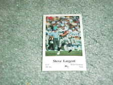1986 Seattle Seahawks Police Football Set Steve Largent