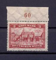 DR 366 Freimarke 3 Mark postfrisch Oberrand (rs90)