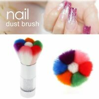 Soft Nail Brush Dust Remover Powder Cleaning Acrylic Manicure Nail Art Tool~