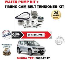 FOR SKODA YETI 1.6 2.0 TDi 16V 2009-2017 TIMING CAM BELT KIT and WATER PUMP SET
