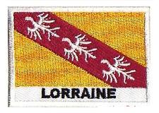 Patch écusson patche drapeau badge région LORRAINE Lorrain 70 x 45 mm