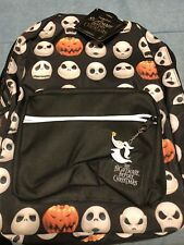 Disney*Nightmare Before Christmas*Jack Halloween Faces Backpack Bag*New W/ Tags