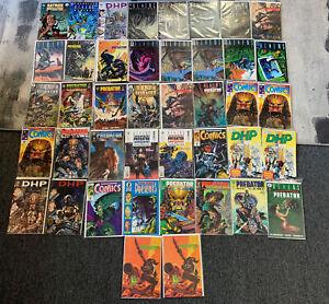 Huge Lot Of 42: Aliens & Predator Dark Horse Comics  (Earth War, Race War)