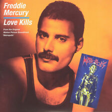 "FREDDIE MERCURY-Love Kills Orange Queen Larry Lurex Vinyl 7"" Single Sided New"