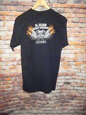 Harley Davidson  Men's T Tee Shirt Size Medium M Black El Cajon California CA