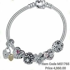 Charm bracelet - Authentic 925 Silver