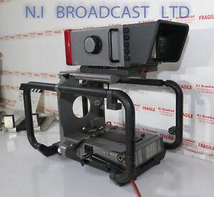 Grass Valley ldk4482 HD cradle (fischer triax) with HD 7inch viewfinder  cradle