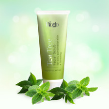 Cosway Bioglo Tea Tree Facial Scrub Exfoliator Skin Care Beauty 100g