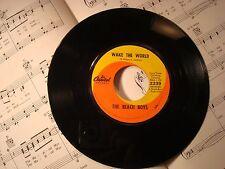 "The Beach Boys - WAKE THE WORLD / DO IT AGAIN 45 rpm 7"" vintage vinyl record"