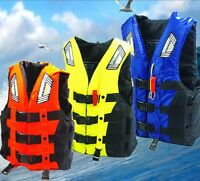 Adult Drifting Buoyancy Aid Sailing Swimming Kayak Snorkeling Life Jacket Vest