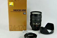 Nikon Zoom-NIKKOR 24-120mm f/3.5-5.6 AF-S VR IF ED Lens boxed