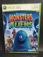 Factory Sealed Monster VS Aliens XBOX 360 NTSC U/C Free Shipping
