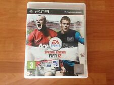 PS3 game FIFA 12 special Edition 3+