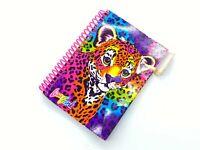 """LISA FRANK 90 Sheet Cheetah Leopard Notebook 6 x 4.5"""""""