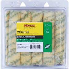 """WhizzFab 6"""" x 1/2"""" Nap Polyamide Fabric Mini Paint Roller Cover 10/Pk 25029"""