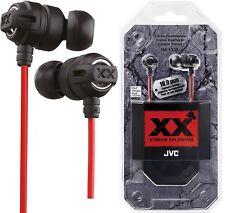 JVC HAFX1X Xtreme Explosivos ORIGINAL AURICULARES ALTA CALIDAD ha-fx1x / NUEVO