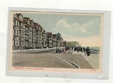SEAFORD,sea front,looking east OLD PRINTED .POSTCARD