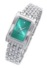 Armbanduhr Damenarmbanduhr mit kleinem Diamant Metall NEU