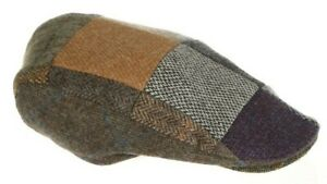 Donegal Patchwork Touring Flat Cap Handmade in Ireland
